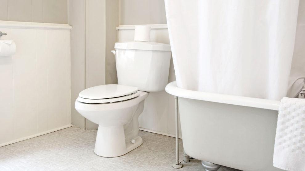 Como limpar o banheiro