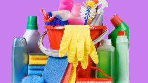Quais produtos de limpeza devo usar na limpeza de casa