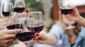 Limpar mancha de vinho