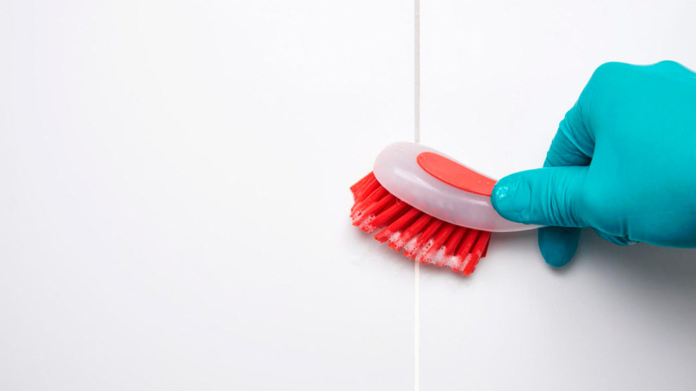 Como limpar rejuntes encardidos