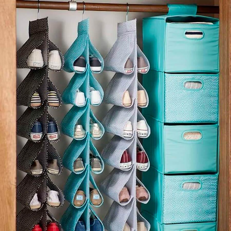 Organizadores de sapatos